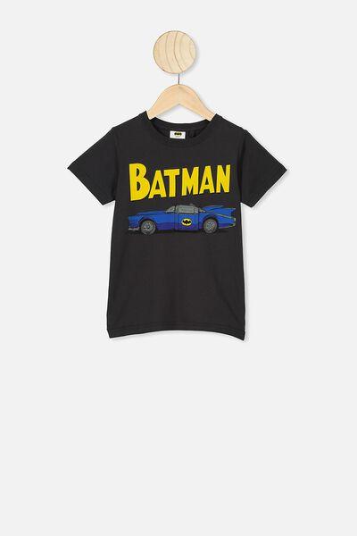 Short Sleeve License1 Tee, LCN WB PHANTOM/BATMAN CAR