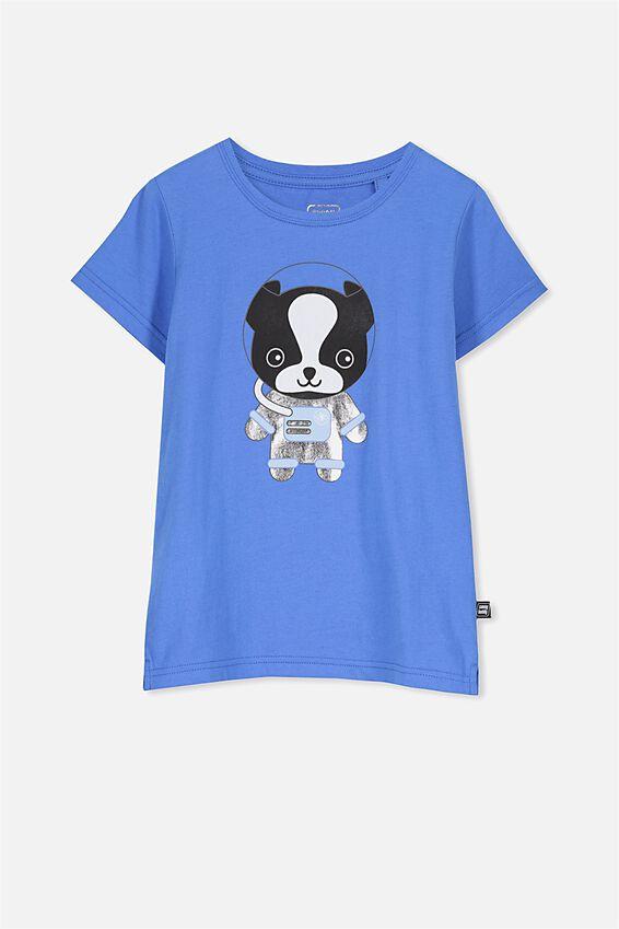Sunny Buddy Ss T-Shirt, MAX/ASTRONAUT