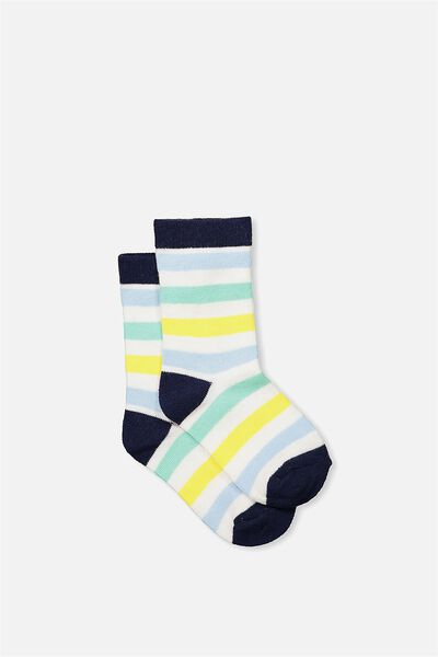 Fashion Kooky Socks, ASPEN STRIPE