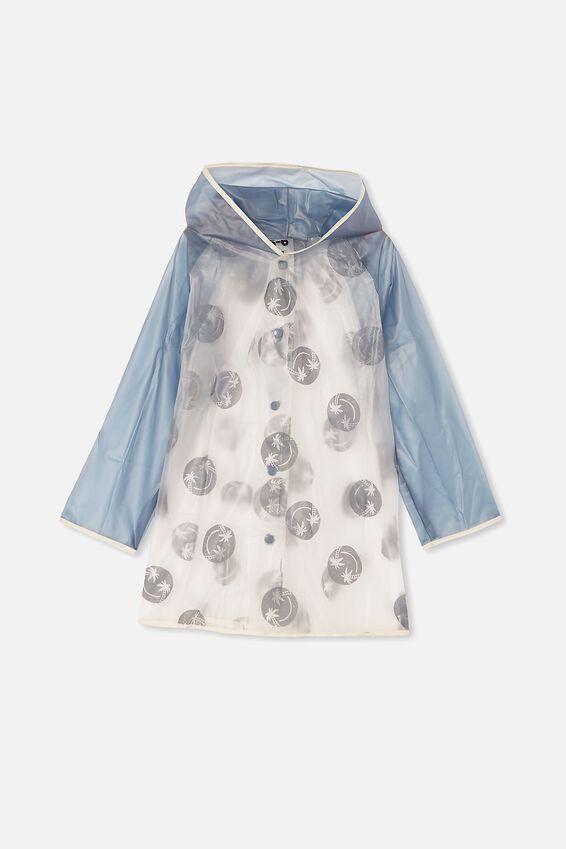 Cloudburst Raincoat, STEEL SMILEY
