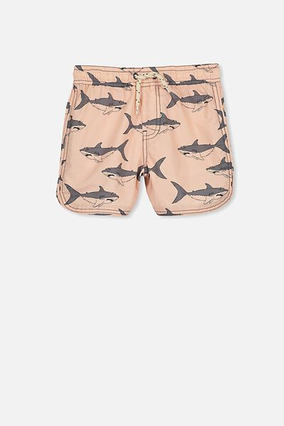 Murphy Swim Short, CHEEKY MANGO/SHARKS
