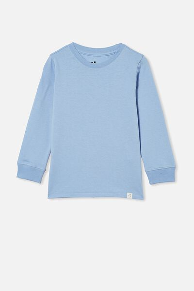 Core Long Sleeve Tee, DUSK BLUE