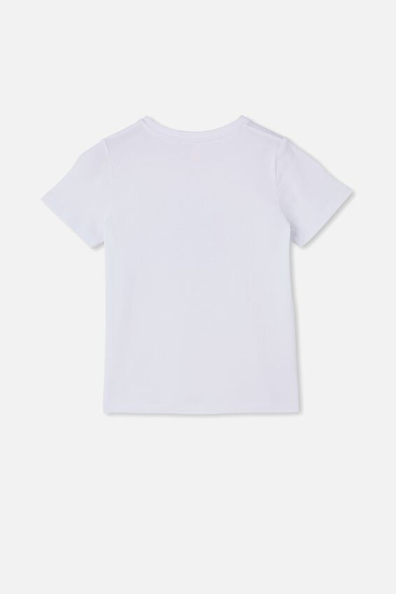 Stevie Short Sleeve Embellished Tee, WHITE/ SEQUIN LADY BUG