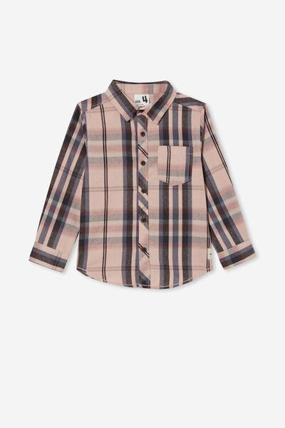 Rugged Long Sleeve Shirt, ZEPHYR/WASHED CHECK