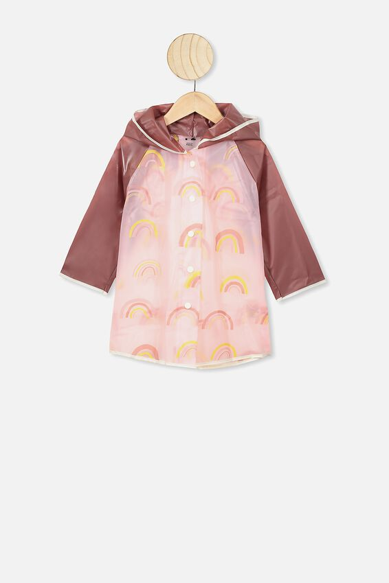 Cloudburst Raincoat, CLAY PIGEON RAINBOW