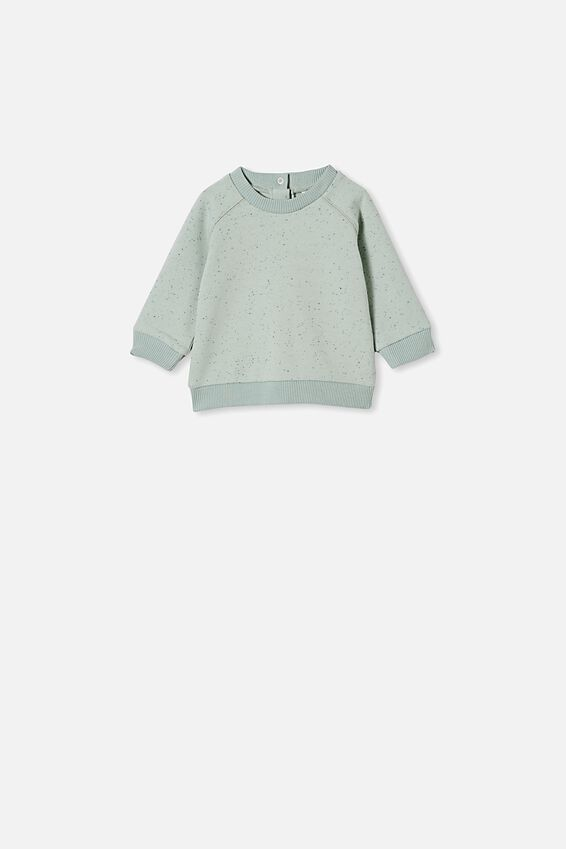 Harley Sweater, STONE GREEN NEP