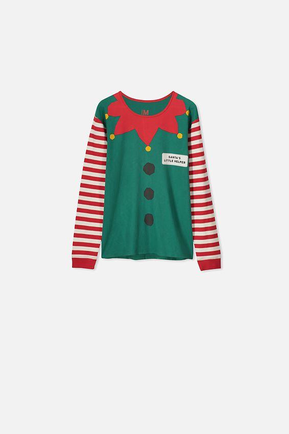Adults Christmas Unisex PJ Set, XMAS ELFIE