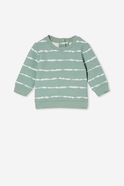 Bobbi Sweater, SMASHED AVO LINEAR TIE DYE
