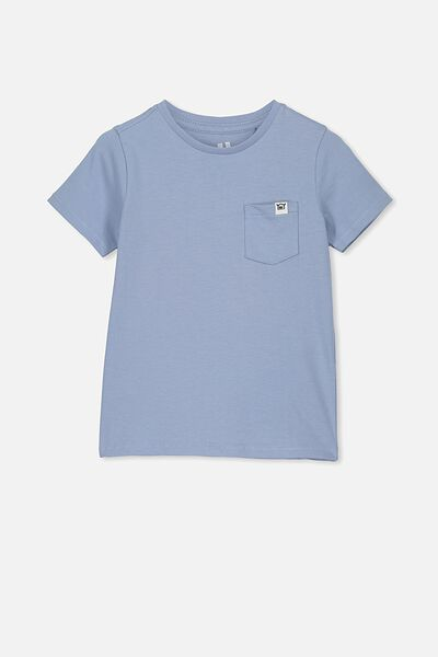 Core Short Sleeve Tee, DUSTY BLUE