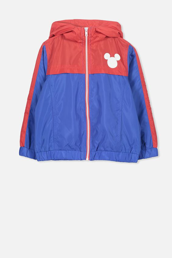 Mickey Mouse Spray Jacket, FRENCH BLUE/MICKEY