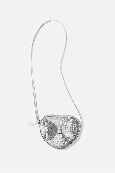 Heart Party Bag, SILVER