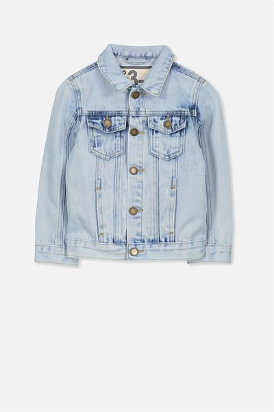 Harvey Denim Jacket, MALIBU BLUE WASH