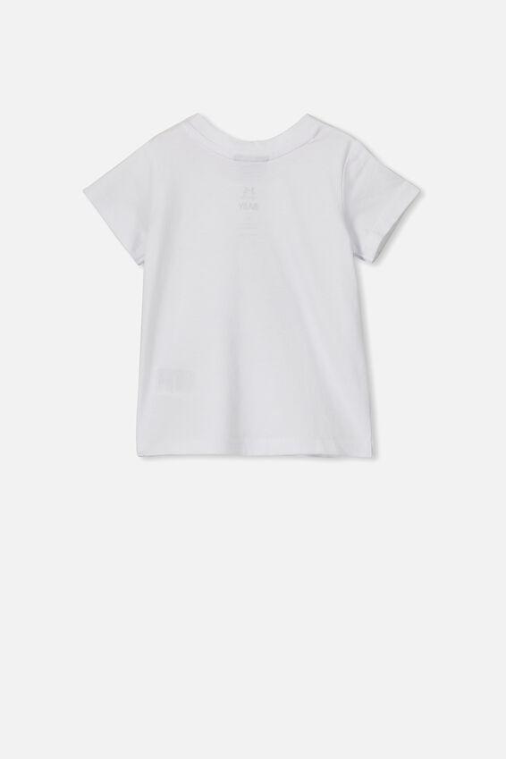 Jamie Short Sleeve Tee, LCN DIS WHITE/ARIEL