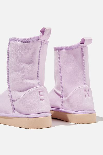 Classic Homeboot Personalised, PALE VIOLET