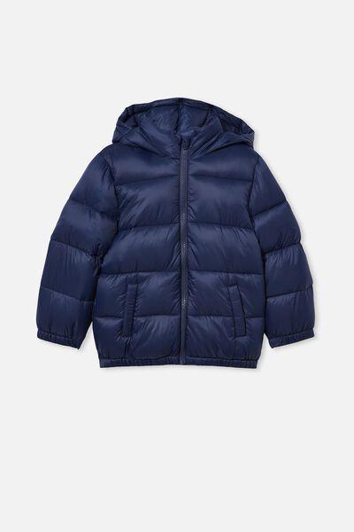 Frankie Puffer Jacket, INDIGO
