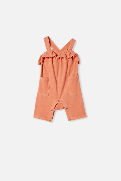 Halle Playsuit, DUST STORM WASH