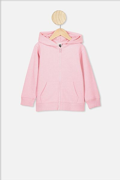 Sunny Zip Through Hoodie, MARSHMALLOW MARLE