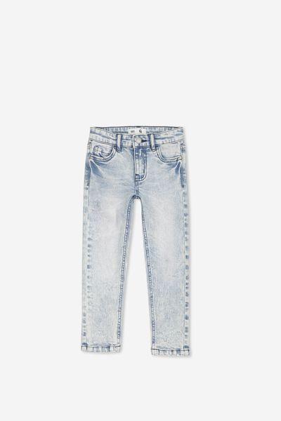 Ollie Slim Leg Jean, LIGHT WASH