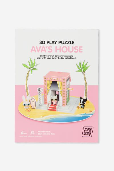 Sunny Buddy 3D Puzzle Play, AVA HOUSE