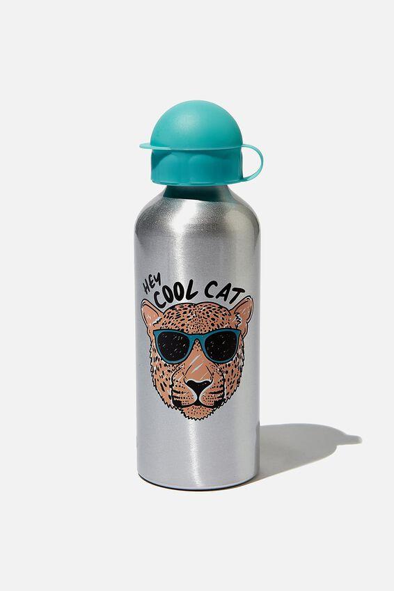 Aluminium Drink Bottle, COOL CAT
