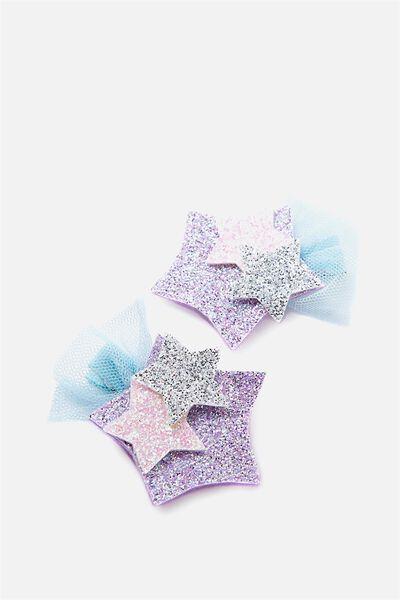 Dress Up Hair Clip, TRIO STARS