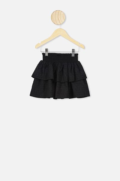 Summer Skirt, BLACK