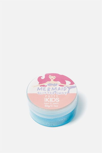 Kids Putty, MERMAID GLITTER SNOT