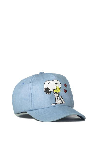 Snoopy Cap, CHAMBRAY HUGS
