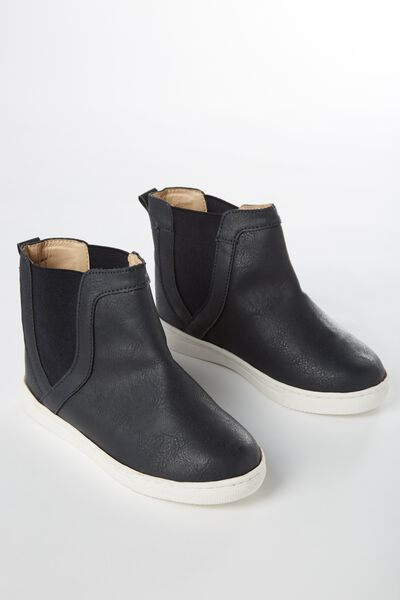 Darcy Gusset Boot, NAVY