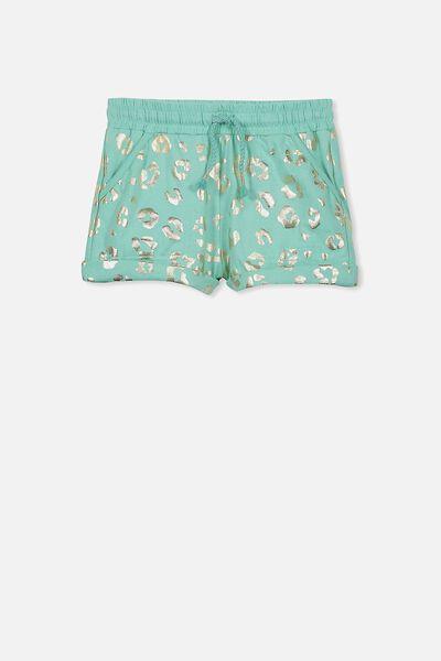 Nila Knit Short, BEVELED GLASS/ANIMAL