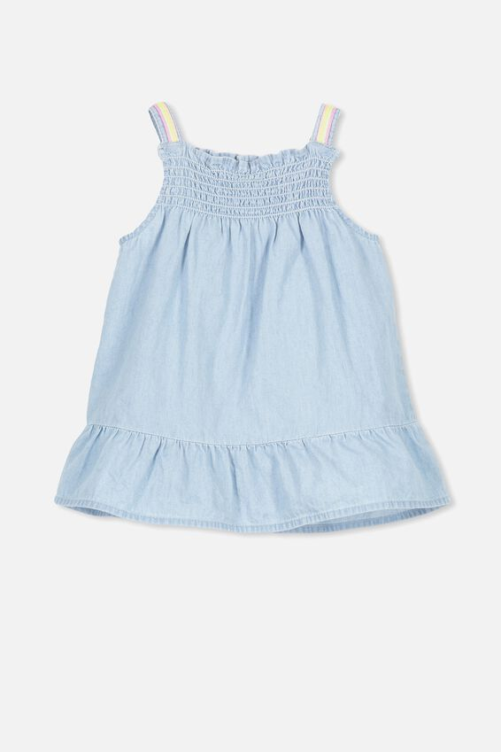 Claire Dress, CHAMBRAY BLUE