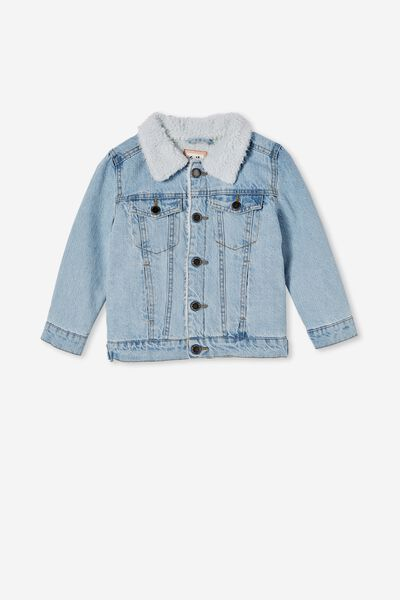 Jj Relaxed Jacket, BYRON MID BLUE
