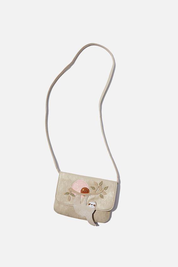 Jayme Critter Bag, GOLDY SLOTH