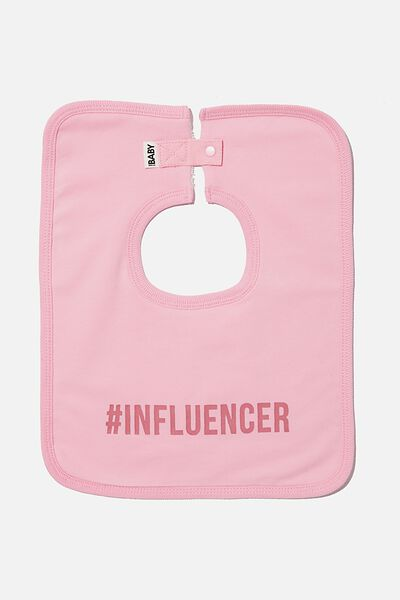 The Everyday Bib, CALI PINK/INFLUENCER