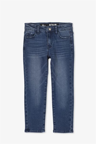 Ollie Slim Leg Jean, SEAFOAM BLUE