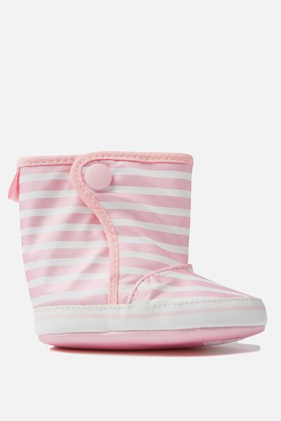 Mini Rain Bootie, SEA PINK/VANILA