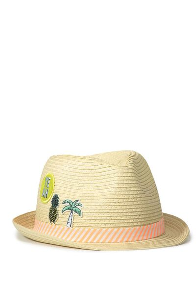 Trilby Hat, TROPICAL PATCHES