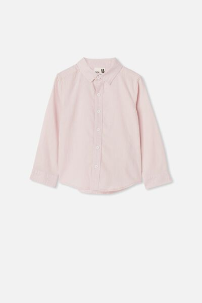 Harper Long Sleeve Shirt, PINK QUARTZ