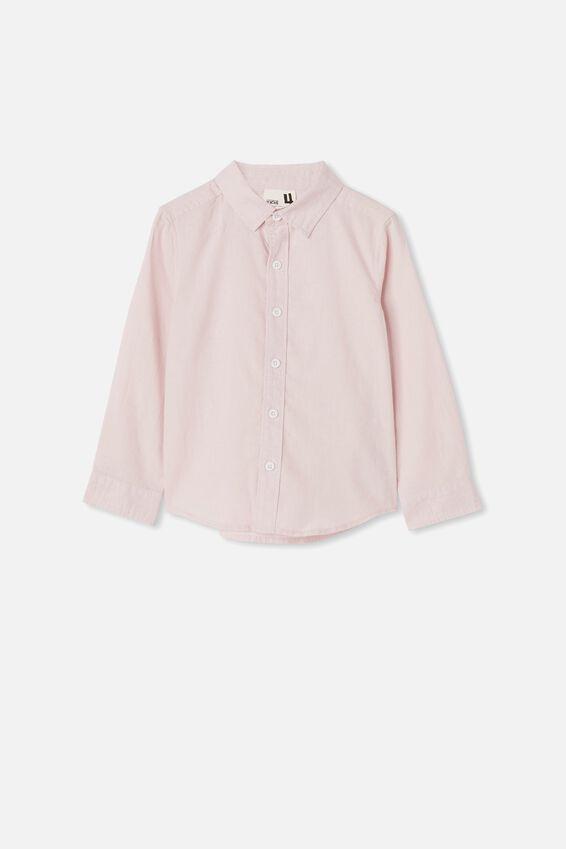 Harper Long Sleeve Shirt, PINK QUARTZ