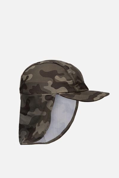 Swim Hat, KHAKI/CAMO