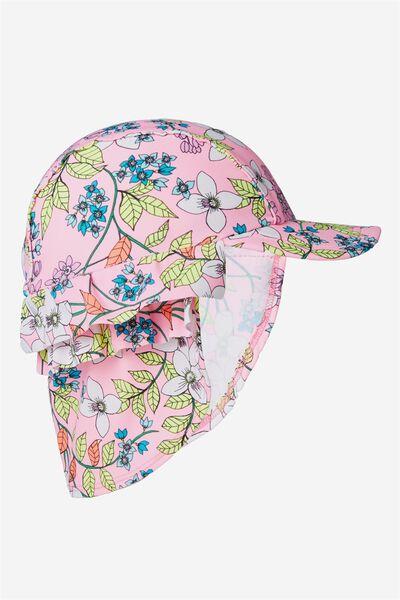 Swim Hat, PINK/FLORAL