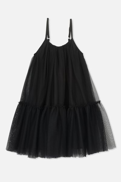 Iggy Dress Up Dress, BLACK