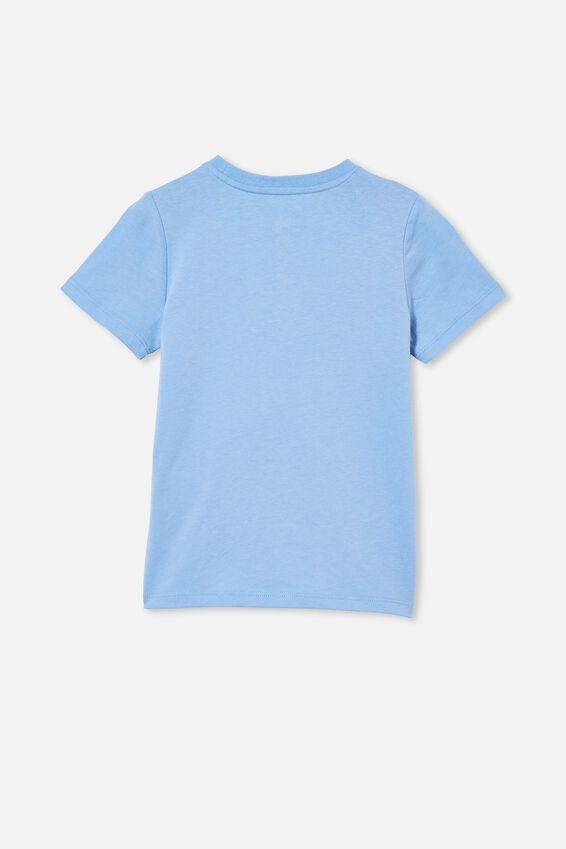 Stevie Short Sleeve Embellished Tee, DUSK BLUE/ SEQUIN BUNNY