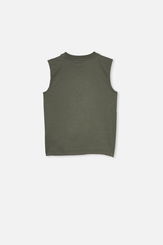 Otis Muscle Tank, SWAG GREEN/HIGHTAIL CO