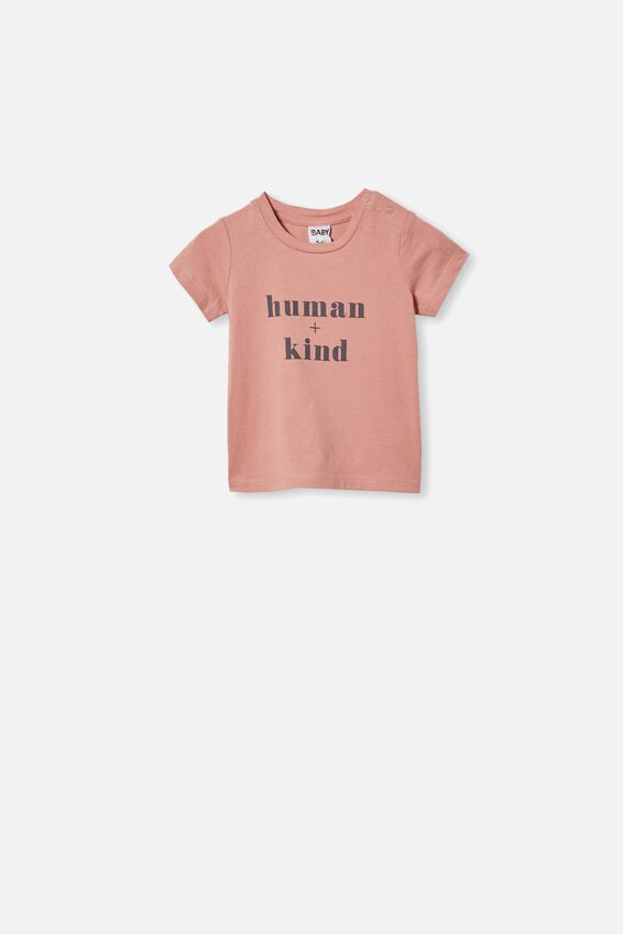 Jamie Short Sleeve Tee, CLAY PIGEON/HUMAN + KIND