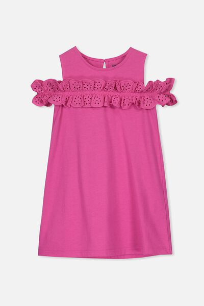 Anais Dress, RASPBERRY ROSE