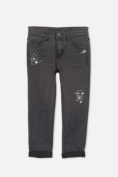 Jagger Slim Leg Jean, BLACK MIDNIGHT WASH