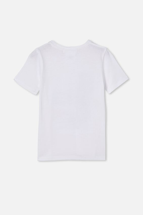 License Short Sleeve Tee, LCN MT NO DOUBT/WHITE