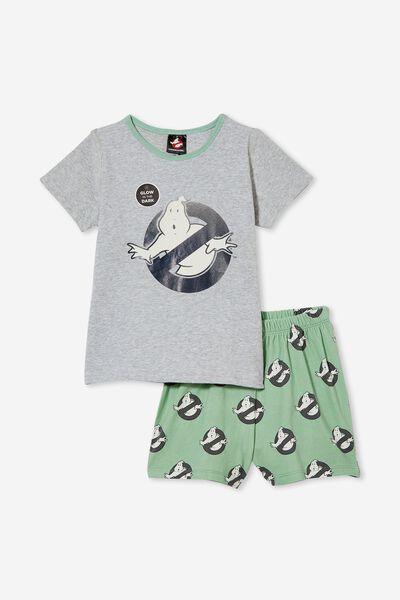 Hudson Short Sleeve Pyjama Set Licensed, LCN SON GHOSTBUSTERS/SMASHED AVO
