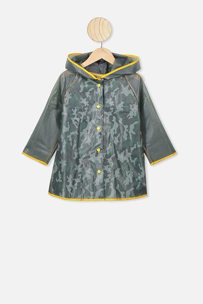 Cloudburst Raincoat, SILVER SAGE CAMO